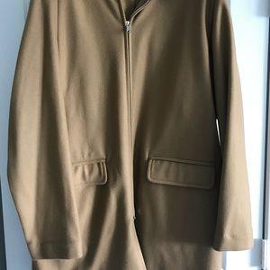 Men's J Crew Wool Hoody Jacket